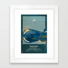 Spinner 995 I/III Blade Runner Framed Art Print