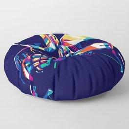 Daft WPAP Punk Floor Pillow