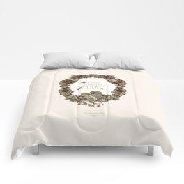 le petit, amour, délicate Comforters