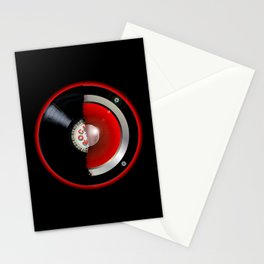 Record Speaker Stationery Cards