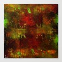 velvet underground Canvas Prints featuring underground by Ganech joe