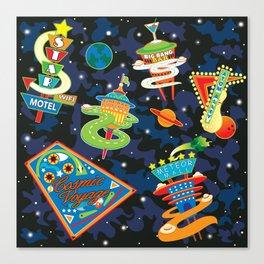 Cosmic Voyage Canvas Print