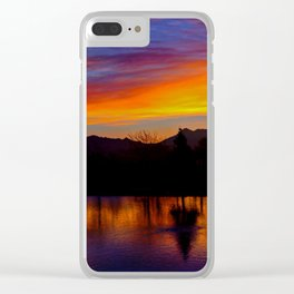 Sunrise at Rose Canyon Clear iPhone Case