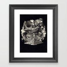 DeathStar. Framed Art Print