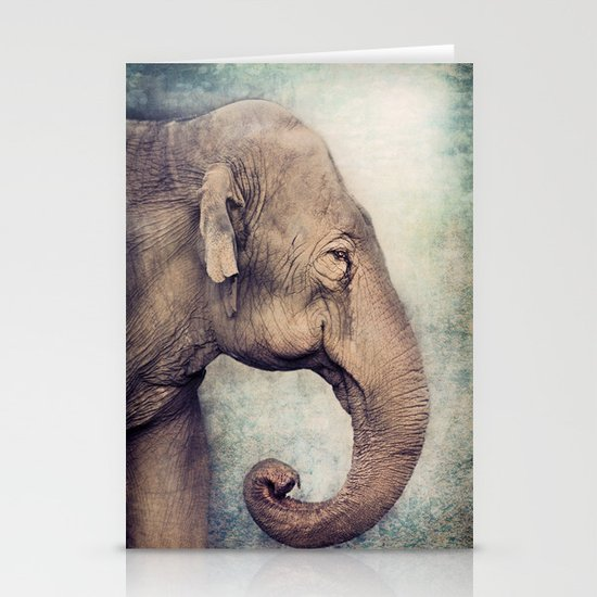 The smiling Elephant Stationery Cards