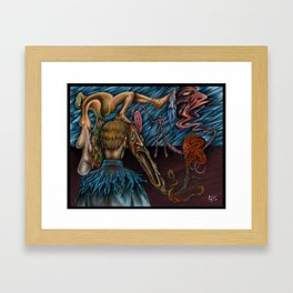 """""""Vision of Sanity/CLEAN"""" - Painting By Landon Huber Framed Art Print"""