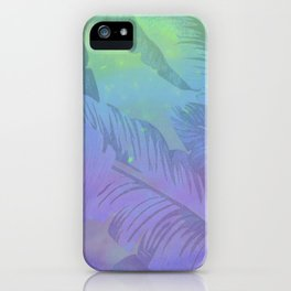 Rainbow in Palms iPhone Case
