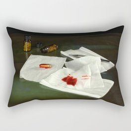 Bullet extraction Rectangular Pillow