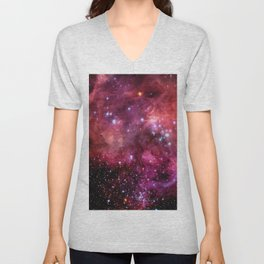 Large Magellanic Cloud Unisex V-Neck