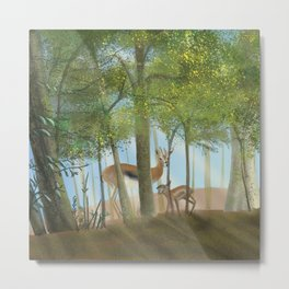An Enchanted Forest Metal Print