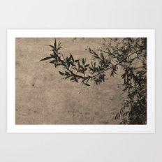 Oriental Breeze Art Print