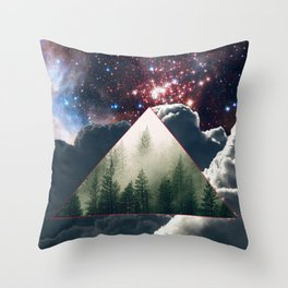 The dagger dug in your back. Throw Pillow