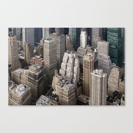 Up close and personal - NYC Canvas Print