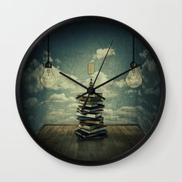 switch on your mind Wall Clock