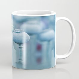 Poppy capsules blue style Coffee Mug
