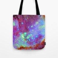 nursery Tote Bags featuring Stellar Nursery by Starstuff