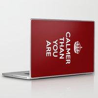 lebowski Laptop & iPad Skins featuring Keep Calm Lebowski by D-fens