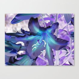 Lily Flower A120 Canvas Print