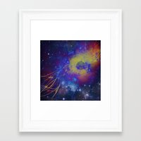 pocket fuel Framed Art Prints featuring Fuel Trails by AbstractAnomaly