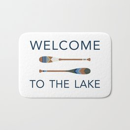 Welcome to the Lake Bath Mat