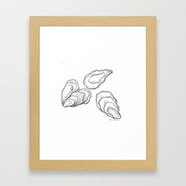 Mother of a pearl Framed Art Print