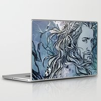 fili Laptop & iPad Skins featuring The Hobbit - Fili by lorna-ka