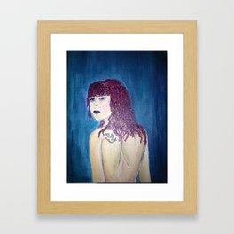 Inspired by Ariel Framed Art Print