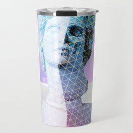 Vaporwave Aesthetics Travel Mug