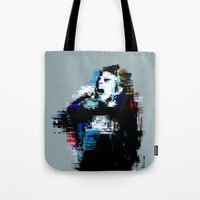 wasted rita Tote Bags featuring Wasted by magnojam
