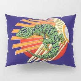 Native Japanese Gecko Pillow Sham