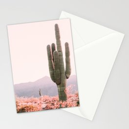 Vintage Cactus Stationery Cards