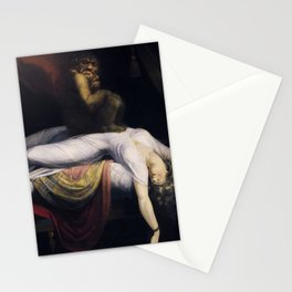 THE NIGHTMARE - JOHN HENRY FUSELI  Stationery Cards