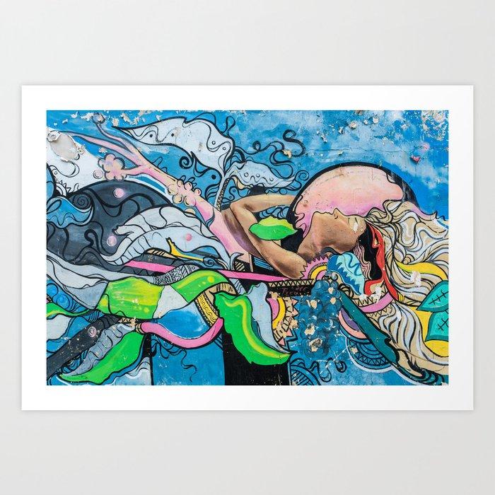 AFH 2018 Street Art 6 Art Print