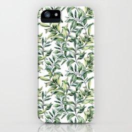 Snowberry iPhone Case