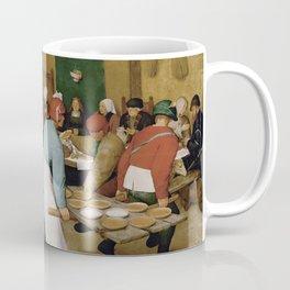 Peasant Wedding by Pieter Bruegel the Elder Coffee Mug