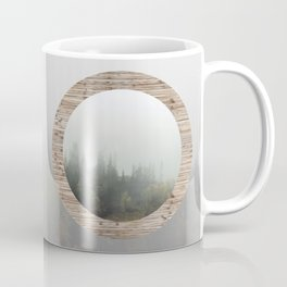 At the still point of the turning world. Coffee Mug