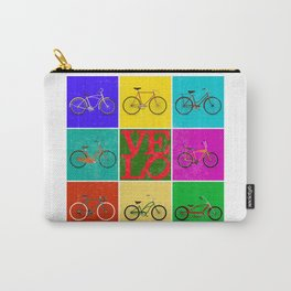 Velo Love – 8 Bikes PoP - June 12th – 200th Birthday of the Bicycle Carry-All Pouch