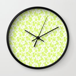 Citrus Limon Wall Clock