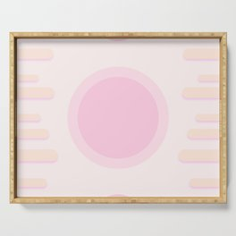 Cotton Candy Serving Tray