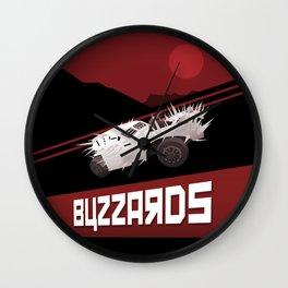 Mad Max - Buzzards Wall Clock