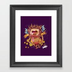 Gorillain Sane Framed Art Print