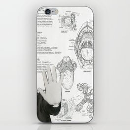 digestive system: oral cavity and relations iPhone Skin