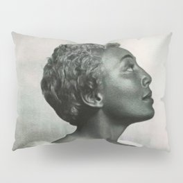 African American Masterpiece 'Joyce Bryant' The Voice You Will Always Remember portrait painting Pillow Sham