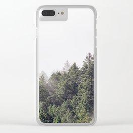 forest / mt. tamalpais Clear iPhone Case