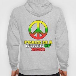 Spread the Love with this Peace of mind Tshirt Design Peace is a stete of mind Hoody