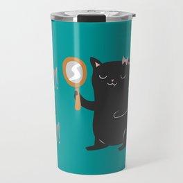 Catty Thoughts! Travel Mug