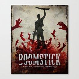 Boomstick Canvas Print