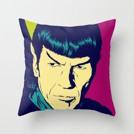 Spock Logic Throw Pillow