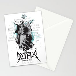 Deifix Angel of Mercy: 1 Chronicles 21:15 Stationery Cards