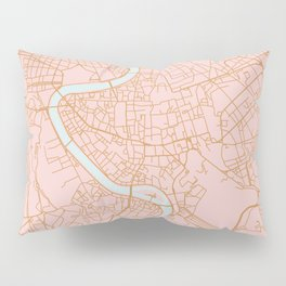 Rome map Pillow Sham
